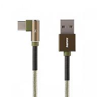 Cáp Sạc Vải Quấn Lò Xo 2 đầu Micro USB Remax RC-119a -Hàng Chính Hãng thumbnail