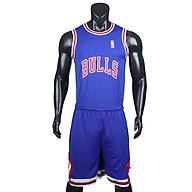 Bộ quần áo bóng rổ Bulls - Xanh Bích thumbnail
