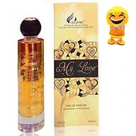 Nước hoa Nữ Charme My Love 100ml - Tặng Kèm Thú Nhún Mặt Cười Siêu Dễ Thương thumbnail