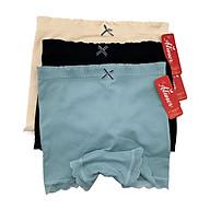 Combo 3 Chiếc Quần Mặc Trong Váy ATUNER QL009, Cao Cấp, Họa Tiết Gân Ren Viền Mềm Mại, Thoáng Mát (Giao Màu Ngẫu Nhiên) - Hàng Chính Hãng thumbnail