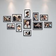 Bộ Khung Treo Tường Trang Trí Salon Cắt Tóc Nam Cực Đẹp Tặng Kèm bộ ảnh như hình mẫu, đinh treo tranh và sơ đồ treo - PGC237 thumbnail