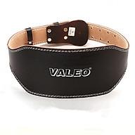 Đai Lưng Cứng Da Bò Tập GYM Valeo Lifting Belt (Có Lớp Đệm Êm) thumbnail