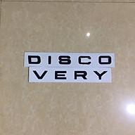Decal chữ Discovery 3D Canino trên ô tô thumbnail