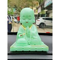 Tượng Phật Ngọc Xanh Cầu May Mắn Bình An thumbnail