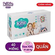 Tã Bỉm Quần Kibie XXL40 (40 Miếng) - Bao Bì Mới thumbnail