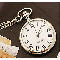 Đồng hồ quả quýt INOX trơn Thiết kế hoài cổ - Lịch lãm (màu ngẫu nhiên) thumbnail
