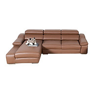 Sofa góc da Juji JO33 260 x 140 x 80 cm thumbnail