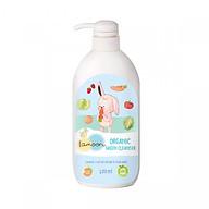 Nước rửa rau củ quả Organic cho bé Lamoon - Bình 400ml thumbnail