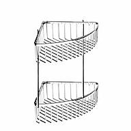 Kệ góc inox SUS 304 - 2 tầng 2T5 cao cấp thumbnail