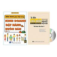 sa ch-combo 2 sách Tiếng Trung giao tiếp trong Kinh doanh Đặt hàng Buôn bán và từ điển chủ điểm chuyên ngành theo chủ đề (25000 từ chuyên ngành)+DVD ta i liê u thumbnail