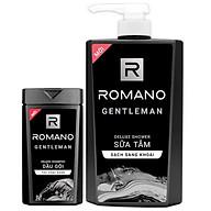 Sữa tắm Romano Gentleman 650ml tặng kèm dầu gội Gentleman 150g thumbnail