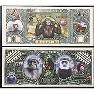 Tiền lưu niệm sưu tầm 1 triệu đô hình con khỉ Mỹ thumbnail