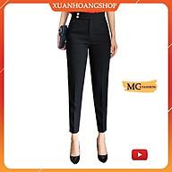 Quần Tây Nữ Đen Mc Fashion, Dáng Công Sở, Ống Baggy, Vẩy, Loe, Côn Màu Trắng, Nâu, Be, Đẹp Q0441 thumbnail