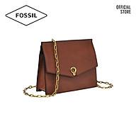 Túi đeo chéo nữ thời trang Fossil Stevie Small Crossbody ZB7882200 - màu nâu thumbnail