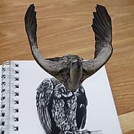 Bộ thẻ Animal 4D dạng sách tiện dụng 33 mẫu - Tăng khả năng sáng tạo học hỏi của trẻ thumbnail