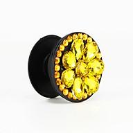 Gía đỡ điện thoại đa năng, tiện lợi, đính đá sang trọng - PopSockets - Đính đá Vàng - Hàng Chính Hãng thumbnail