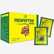 Thực phẩm hỗ trợ hệ tiêu hóa Menpeptine Drops (Siro) - Hộp 20 gói x 5ml thumbnail