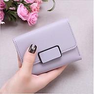 Bóp ví nữ đựng tiền mini gấp 3 bỏ túi giá siêu rẻ, da PU mềm mại, nhiều ngăn chứa thẻ ATM và tiền tiện dụng dùng cho nữ thumbnail