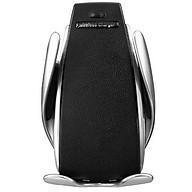 Giá đỡ, kẹp, sạc điện thoại không dây tích hợp cảm biến tự động đóng mở trên xe hơi, ô tô thumbnail