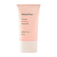 Kem Chống Nắng Innisfree Tone Up No Sebum Sunscreen SPF50+ PA++++ (50ml) thumbnail