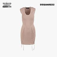DSQUARED2 - Đầm bút chì ôm body Viscose Blend Sheath S72CU0887-216 thumbnail