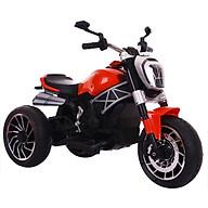 Xe máy điện moto 3 bánh DUCATI MONSTER 1600 cho bé đạp ga bảo hành 6 tháng (Xanh-Đỏ-Trắng) thumbnail