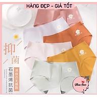 Quần lót nữ su đúc thun lạnh cao cấp, quần lót không đường may hoa cúc Hot trend xuất Nhật thumbnail