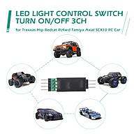 LED Lamp Light Control Switch Panel System Turn On Off 3CH for Traxxas Hsp Redcat Rc4wd Tamiya Axial scx10 D90 RC Car thumbnail