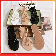 Sandal kẹp Xỏ Đan 4 Dây da mềm Mys Rosa Factory thumbnail