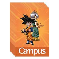 Lốc 10 Cuốn Vở 4 Ô Ly (2,5X2,5Mm) Campus Dragon Ball Z - Brothers NB-BDBB48 - ĐL 100 (48 Trang) - Giao Mẫu Ngẫu Nhiên thumbnail