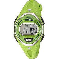 Timex Women s TW5M13600 Ironman Sleek 50 Navy Silicone Strap Watch thumbnail