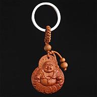 Mặt Dây Chuyền Gỗ Từ Đàn Hình Phật Di Lặc thumbnail
