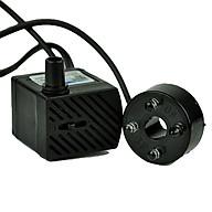 Máy bơm mini có đèn - máy bơm chìm - dùng cho thác nước phong thủy, bể cá thumbnail