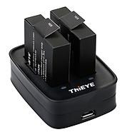 Bộ Sạc Pin Kép Cho Camera Action T5 ThiEYE - Hàng chính hãng thumbnail