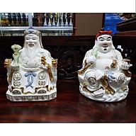 Cặp tượng thần tài ông địa xứ cao 22 cm thumbnail
