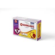 Viên uống tăng khả năng thụ thai tự nhiên OVUMCARE Forte (Hộp 30 viên) - Hỗ trợ điều trị hiếm muộn, vô sinh ở nữ giới - Nhà máy liên doanh với Medinej - USA và đạt chuẩn GMP - WHO thumbnail