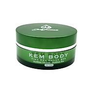 Kem body tinh dầu Chanh Sần 200g JULYHOUSE công dụng dưỡng trắng và dưỡng ẩm da cơ thể hiệu quả, không bết dính đem lại làn da sáng mịn mềm mại hàng công ty chính hãng xuất xứ Việt Nam thumbnail