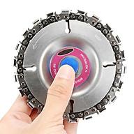 Lưỡi cưa xích tròn lắm máy mài,máy cắt đường kính 100mm- Tặng móc khóa hình công cụ lao động thumbnail