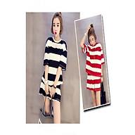 Bộ đồ ngủ cotton sayhome Z590Soc màu đen và đỏ thumbnail