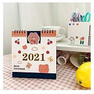 Lịch Bàn 2021 Sáng Tạo Để Bàn Trang Trí Công Việc Note Lịch Mới Kế Hoạch Năm thumbnail