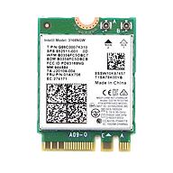 Card Wifi Intel AC3168 khe M2 có Bluetooth - Hàng nhập khẩu thumbnail