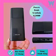 Sạc dự phòng Winlink WD800 - 8000mAh - hàng chính hãng thumbnail