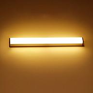 Đèn Cảm Ứng Dán Tường LED Vàng công suất 3W Chiếu Sáng 30cm, sạc pin USB thumbnail
