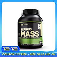 Thực phẩm bổ sung Optimum Nutrition Serious Mass 6lb (2.7kg) thumbnail