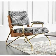 L-U-X. Ghế sofa hiện đại tối giản kiểu Bắc Âu - Ghế sofa đơn sang chảnh (kt 79x86x81cm) thumbnail