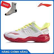 Giày cầu lông Lining AYZR002-1 chính hãng dành cho nữ, đế kếp chống lật cổ chân - Tặng tất thể thao Bendu thumbnail