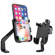 Giá kẹp điện thoại chống trộm, chống rung lắc cho xe máy thumbnail
