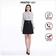Chân váy ngắn chất liệu thô dáng suông FJN3577 - PANTIO thumbnail
