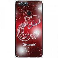 Ốp lưng dành cho Honor 7X mẫu Cung hoàng đạo Aquarius (đỏ) thumbnail