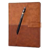 Sổ Ghi Chú Thông Minh Elfinbook X Leather A5 (Nâu) - Hàng Chính Hãng thumbnail